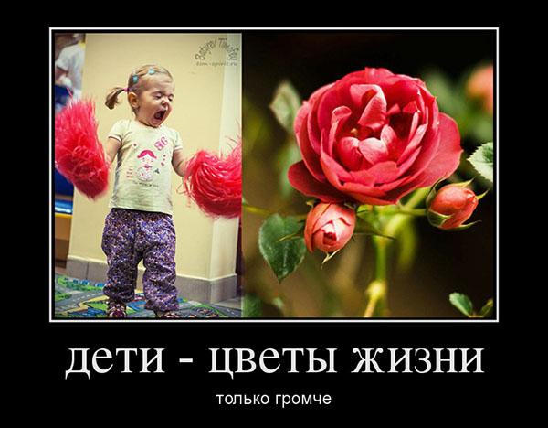 Dzieci - kwiaty życia. Tylko głośniej